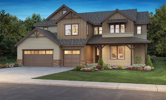 Exterior B: Mountain Craftsman