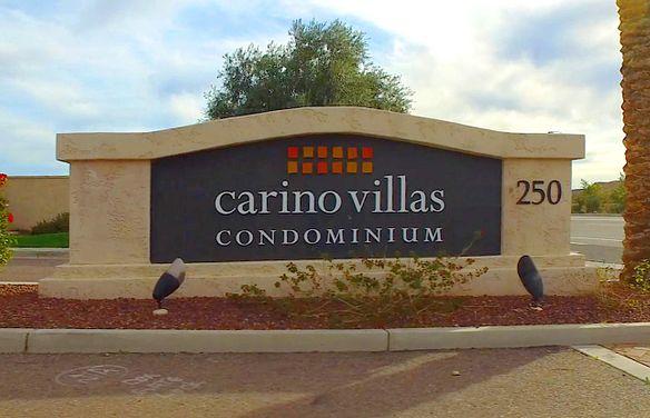 Carino Villas Entry Sign