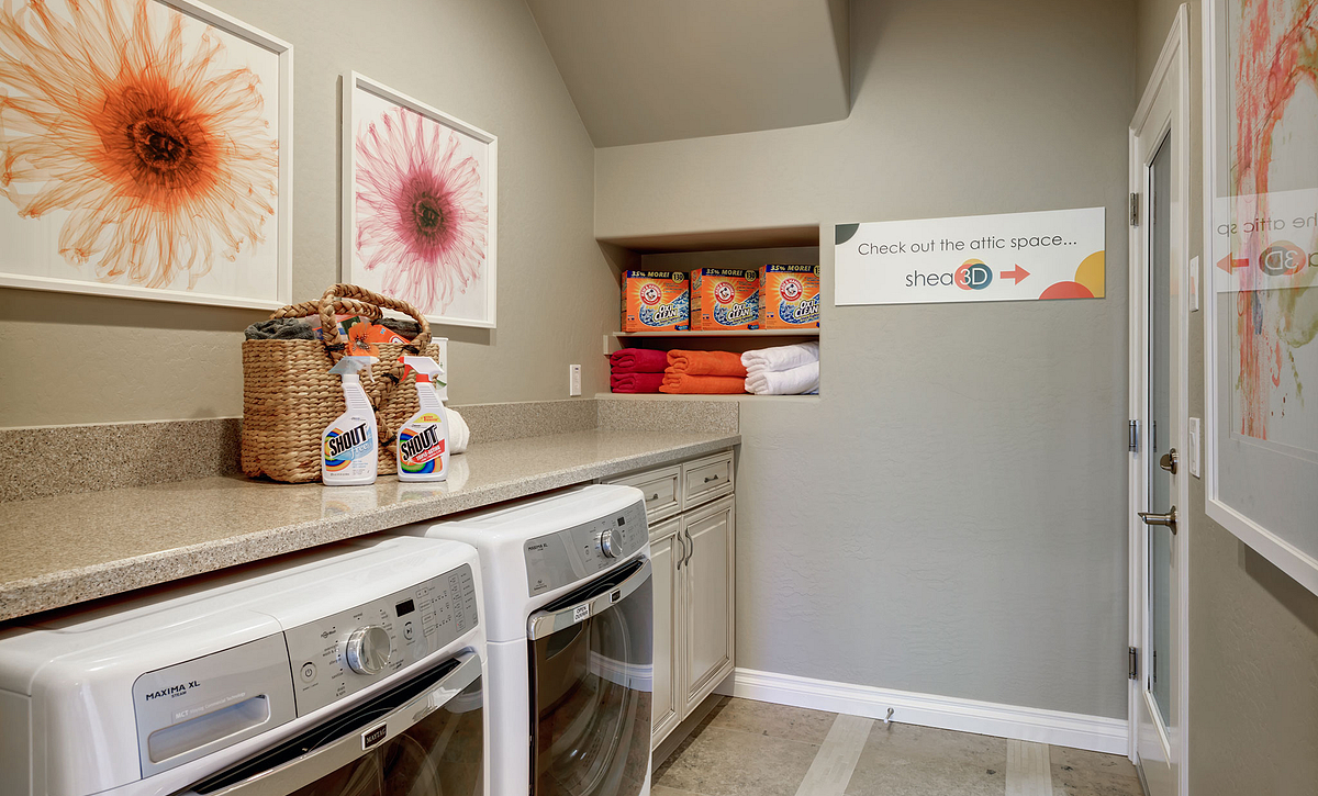 Refresh Model Laundry Room