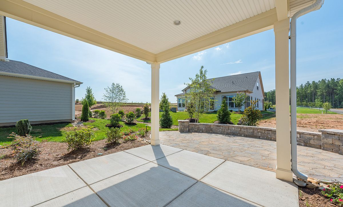 Trilogy Lake Norman Quick Move In Homesite 713 Covered Patio