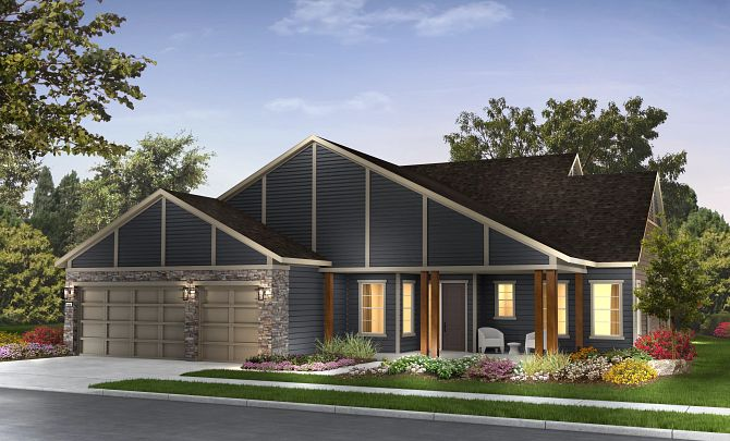 Hensley Plan Exterior A: Craftsman