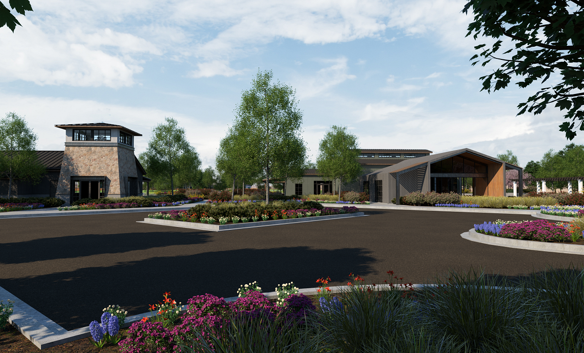 Trilogy Valor Treasure Valley Club Rendering Front Exterior