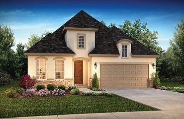 Elevation C: French Country