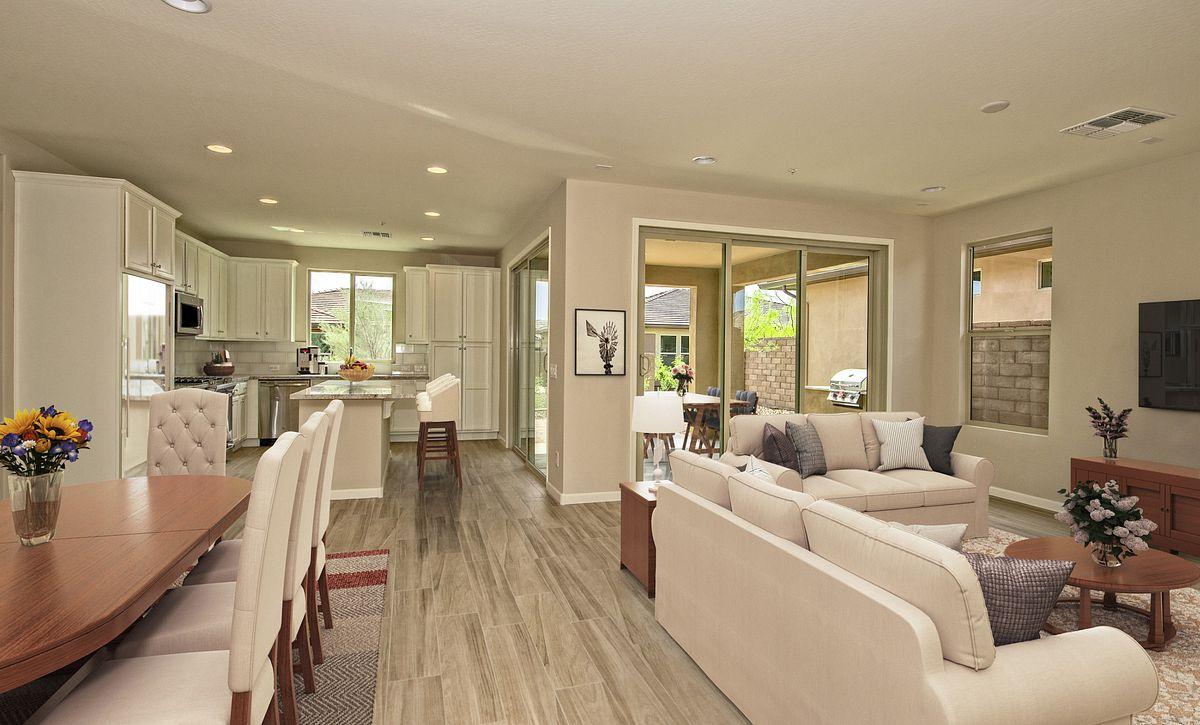 Virtually Rendered Home Interior