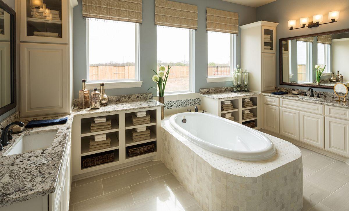 Plan 6015 Master Bath