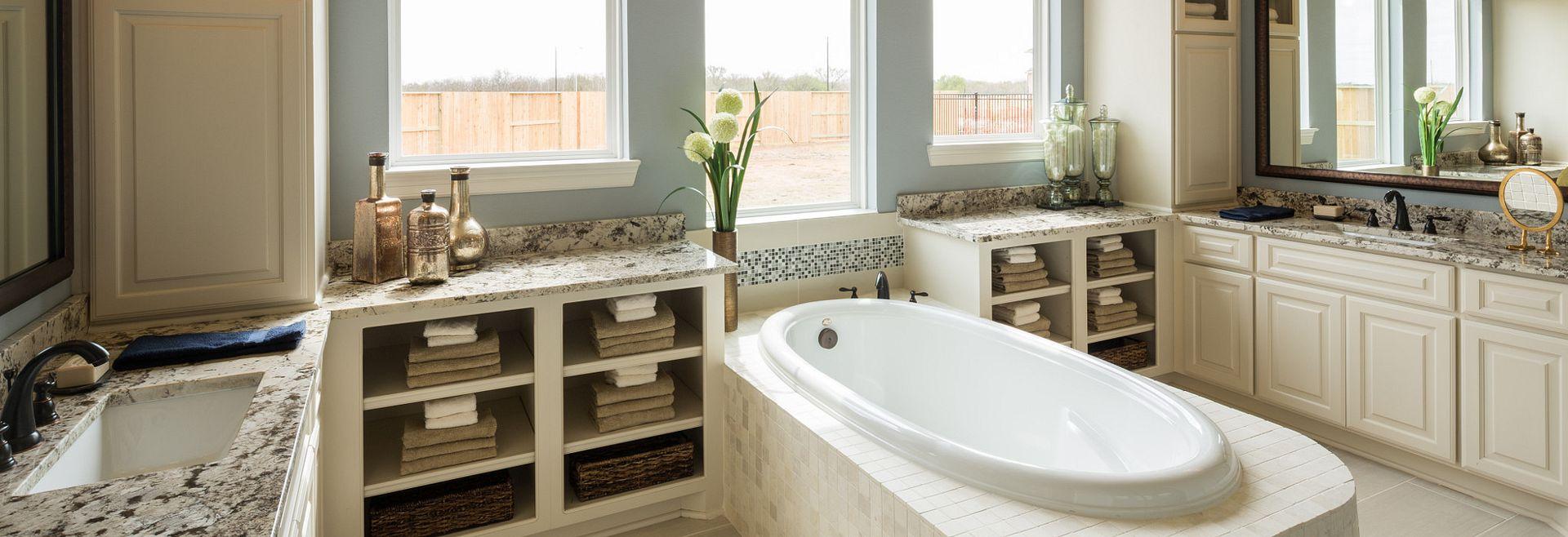 Cane Island Plan 6015 Master Bath