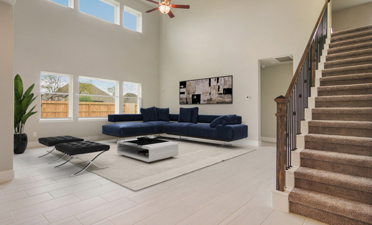 Plan 5069 Living Area