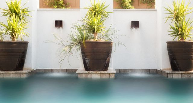 The Reserves Residence 3 Water Feature in Pool