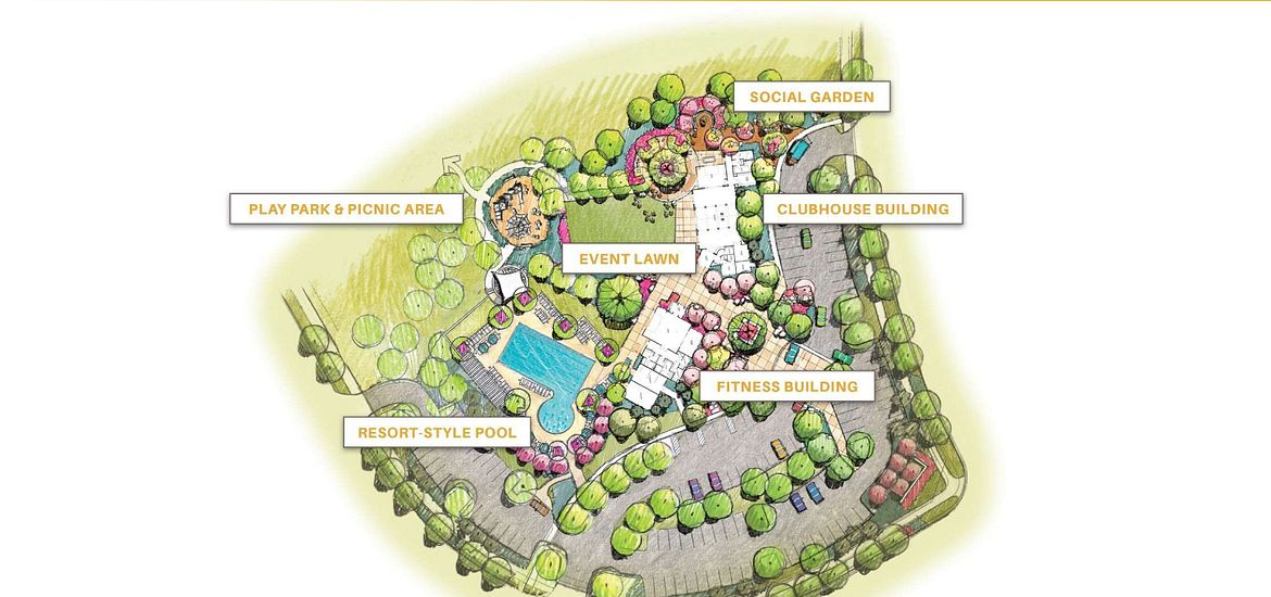 Solstice Amenity Site Plan