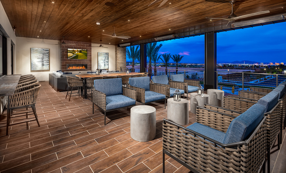 Trilogy Summerlin The Overlook Sports Deck