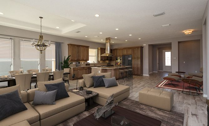 Trilogy Orlando Quick Move In Home Virtually Staged