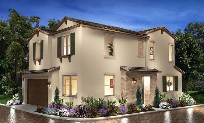 Plan 3 Exterior C: Hacienda