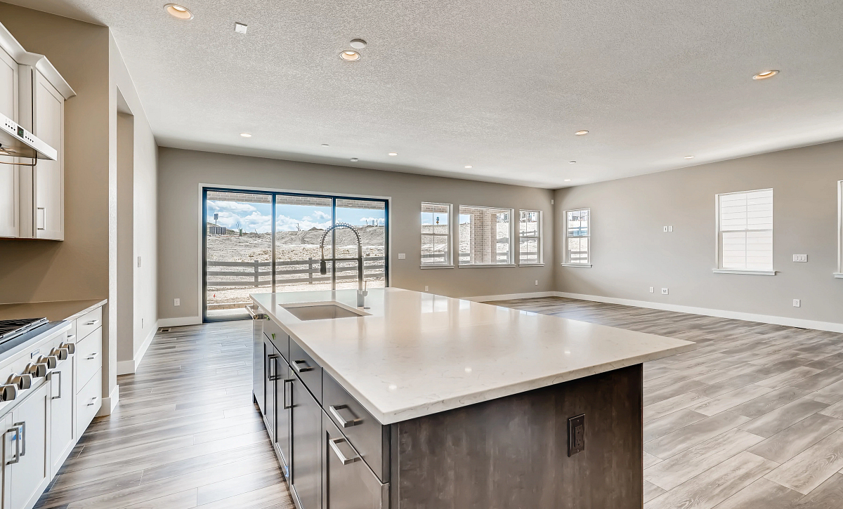 Canyons Retreat Homestead QMI Lot 438 Kitchen, Lounge, Dining