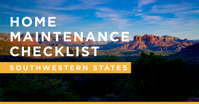 Blog_Home_Maintainance_Checklist_Southwestern_States