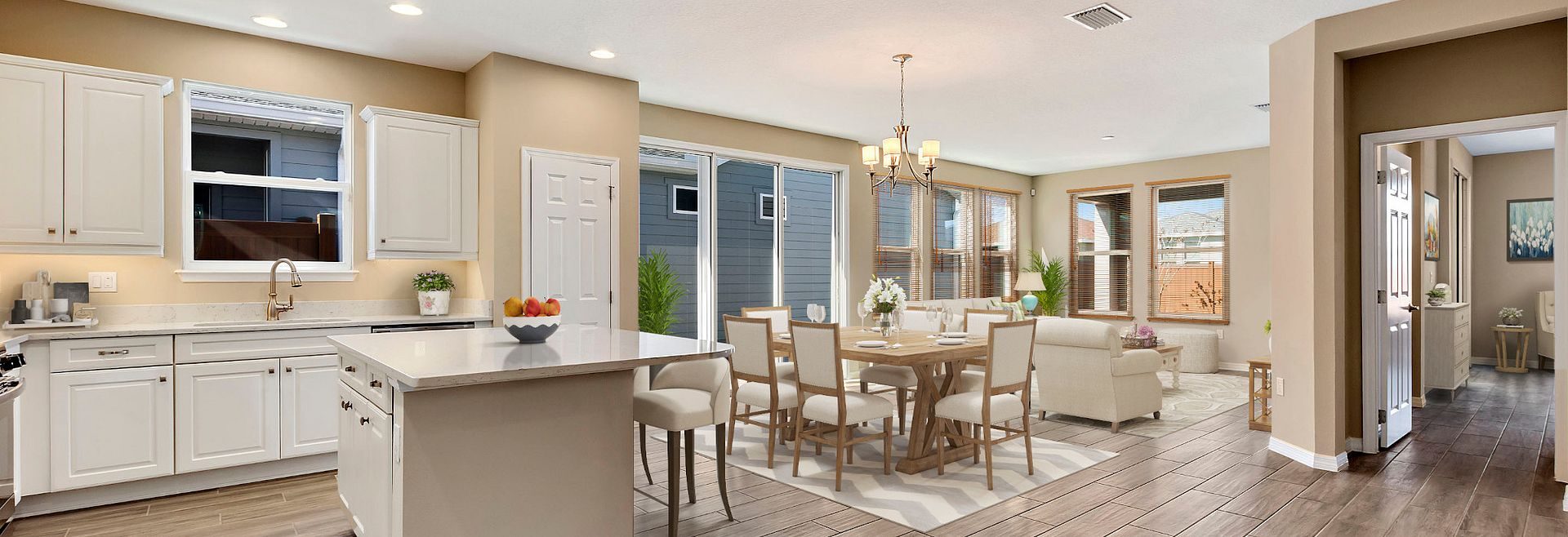 Trilogy Orlando Quick Move In Capri Virtually Staged Great Room