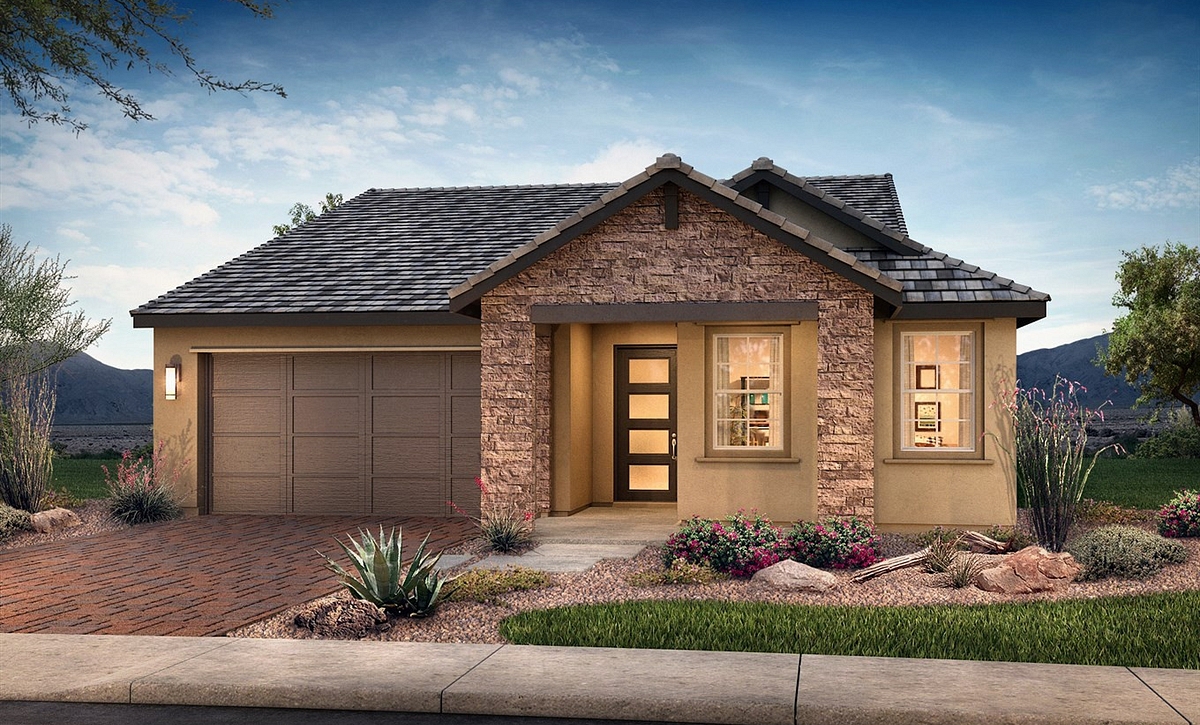 Plan 4011 Hill Country Exterior