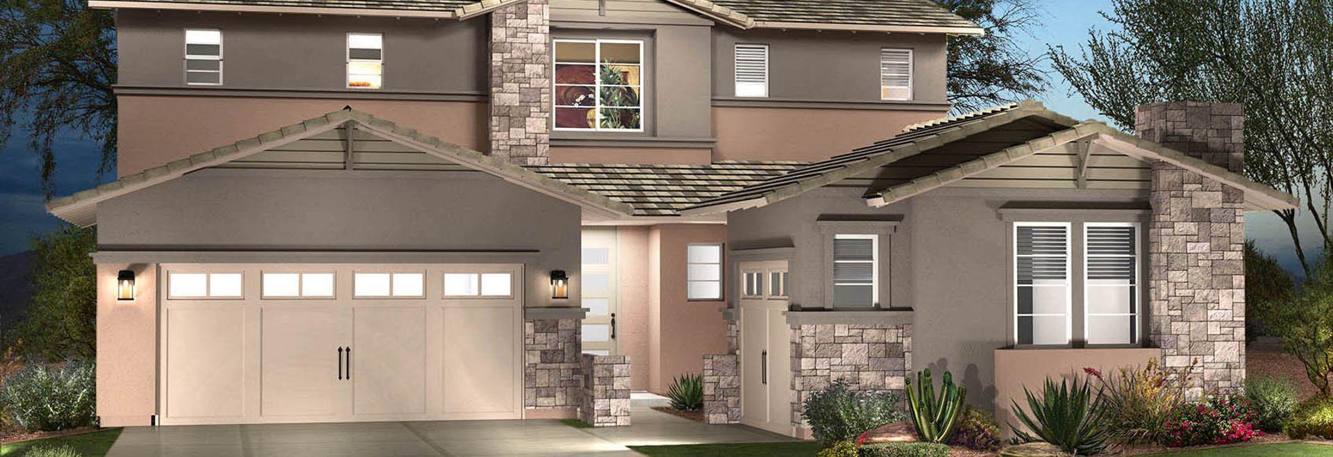 Inspire at Estrella by Shea Homes in Goodyear, Arizona