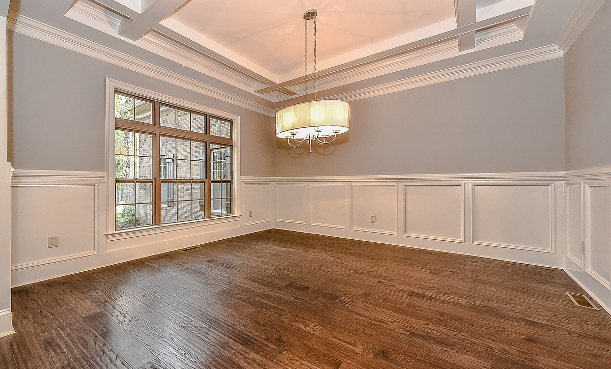 Preston plan Dining Room w/ coffered ceiling option