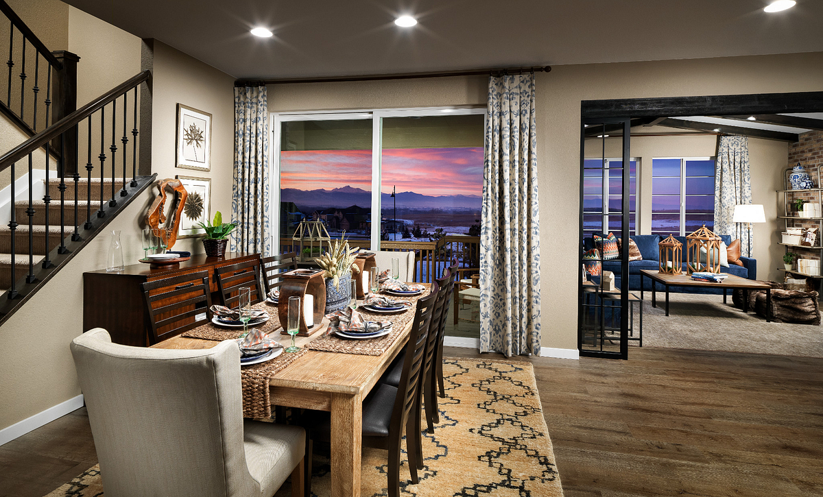 Colliers Hill Peakview Trailside Dining Room