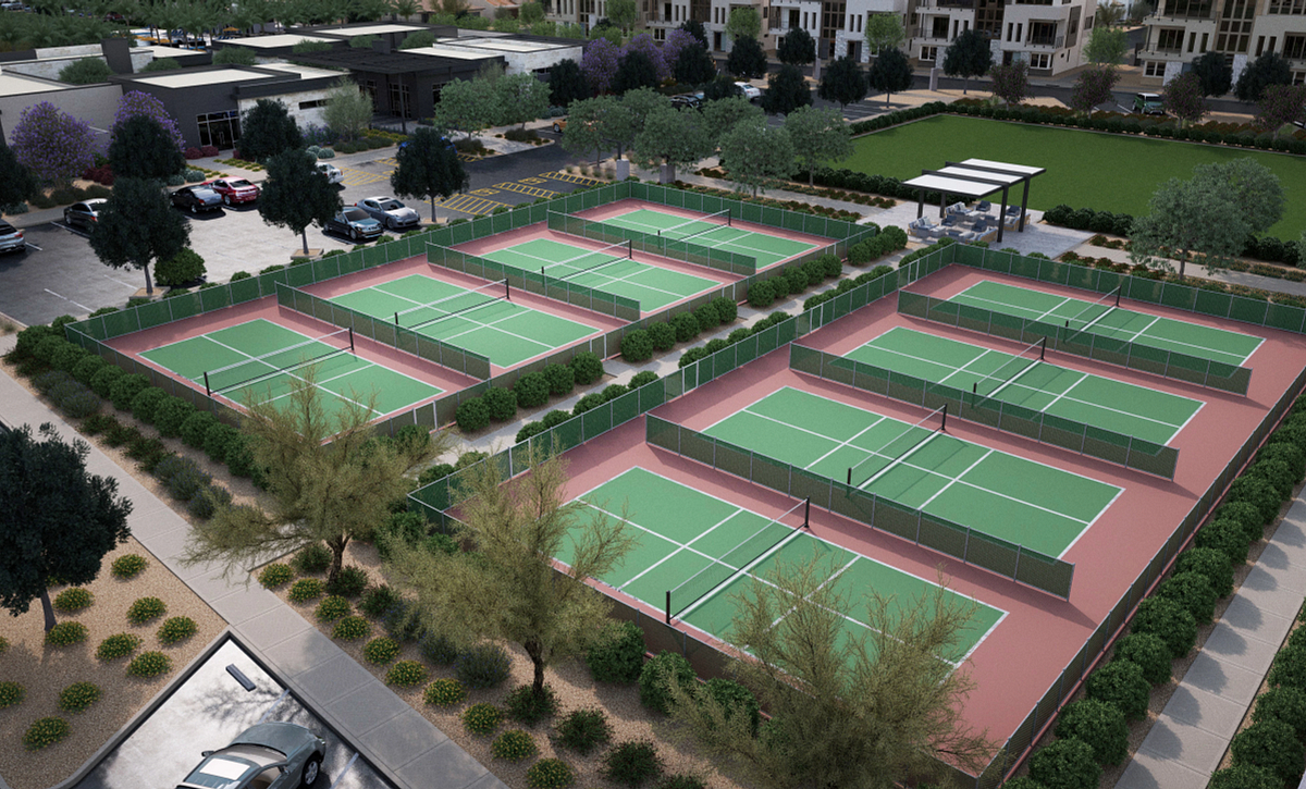 Trilogy Sunstone Pickleball Courts
