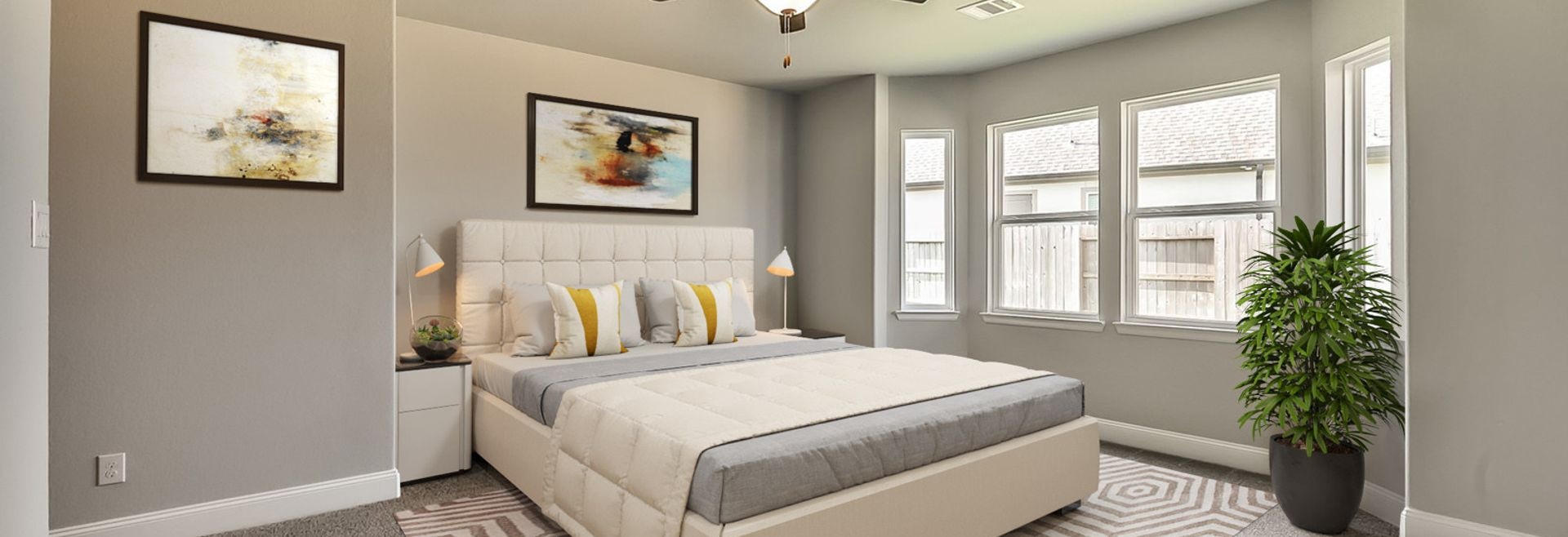 Plan 5049 Master Bedroom