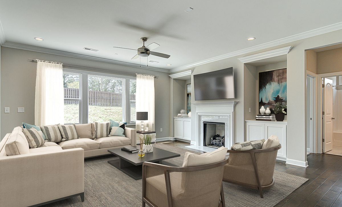 Verona plan Family Room