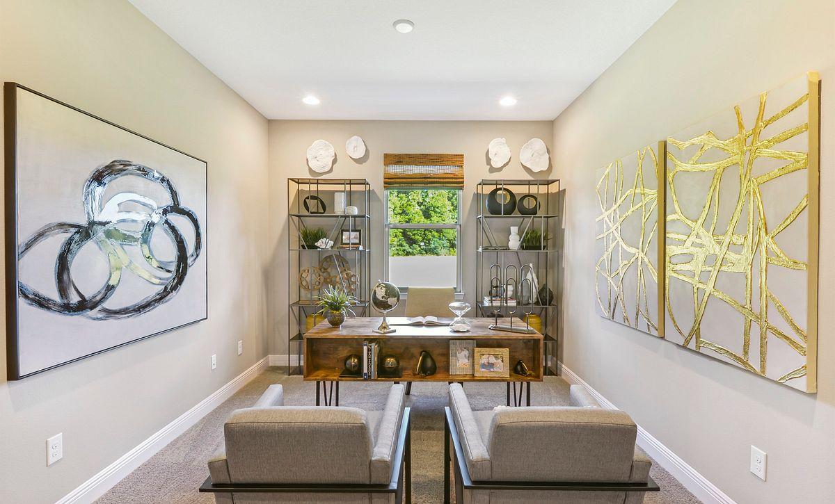 Trilogy at Ocala Preserve Liberty Model Home Den