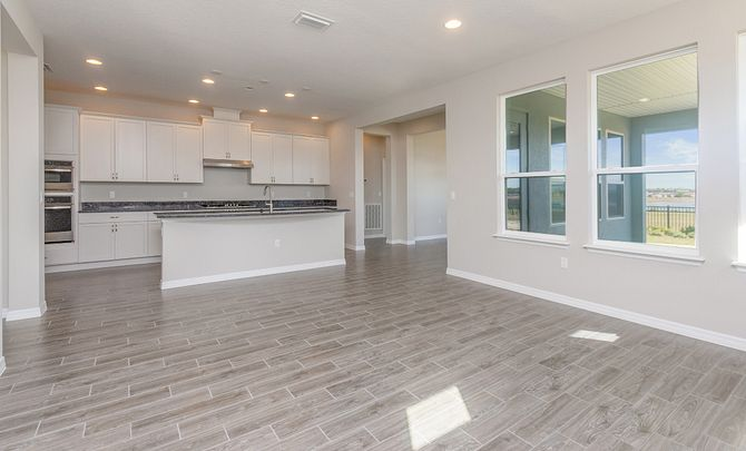 Trilogy Orlando Quick Move In Home Larkspur Plan Great Room