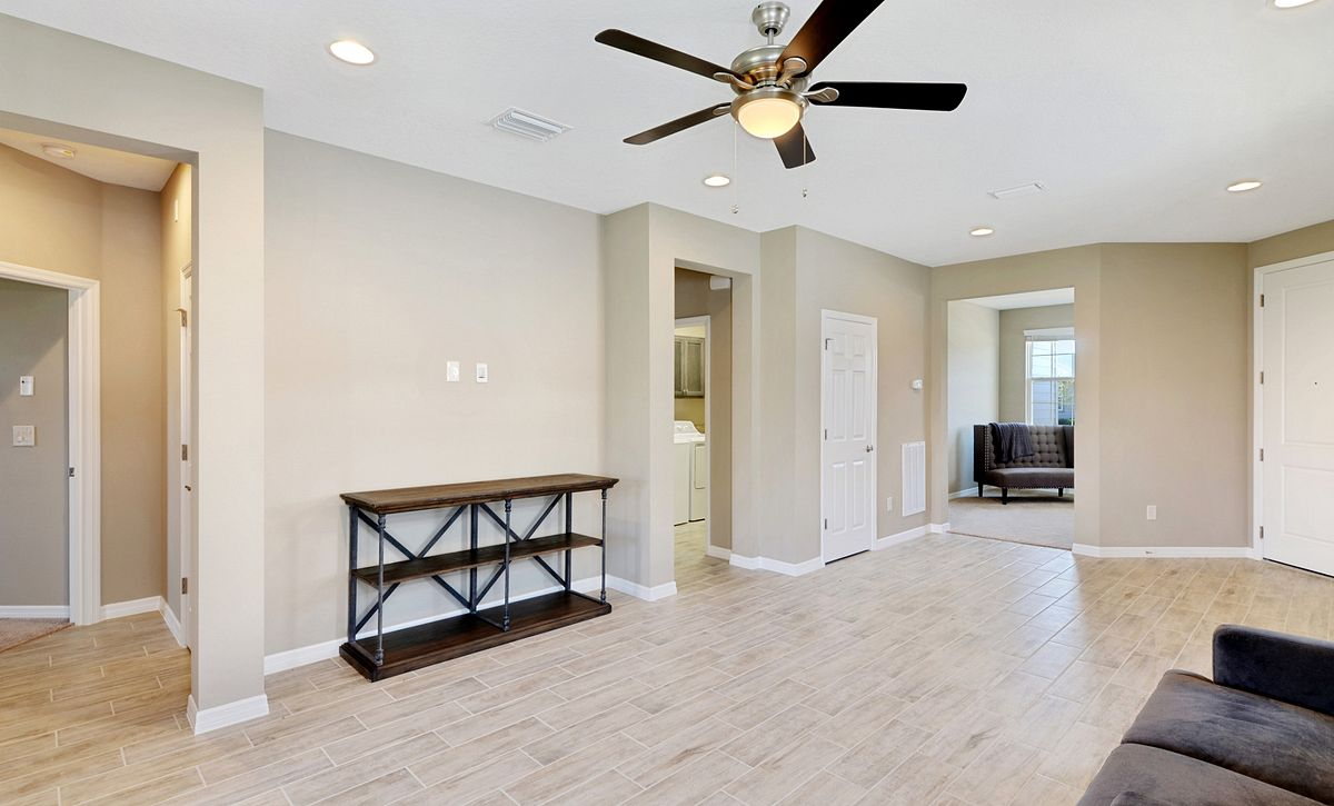 Trilogy at Ocala Preserve Quick Move In Home Naples Great Room
