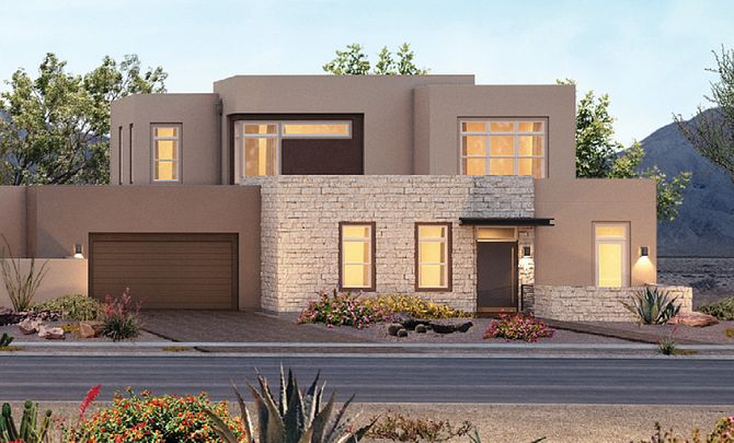 Trilogy in Summerlin Luminous Exterior C