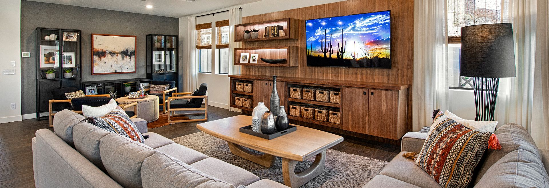 Ascent at Aloravita Plan 4014 Living Room