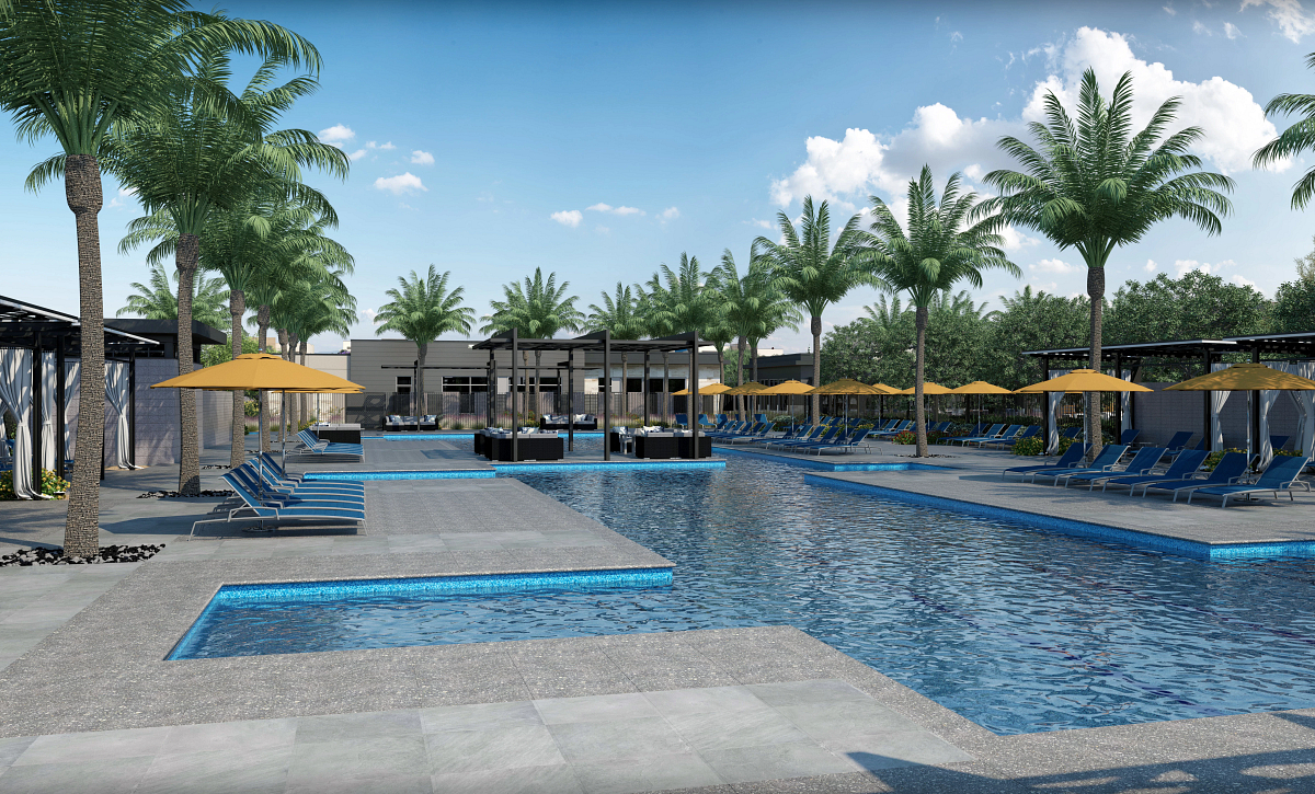 Trilogy Sunstone Resort Pool Rendering