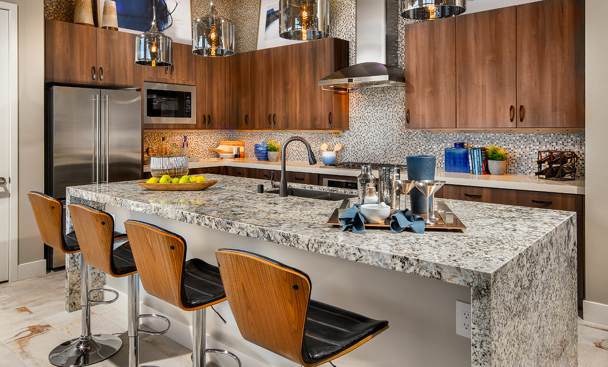Trilogy in Summerlin Apex Kitchen