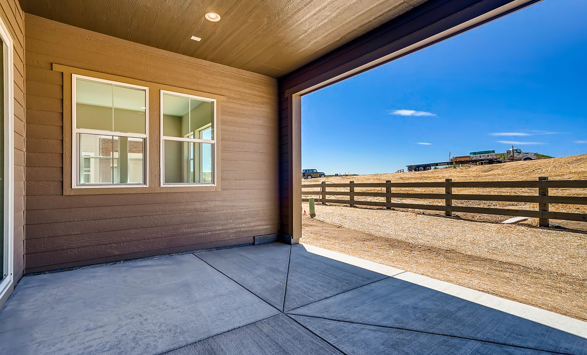 Canyons Retreat Preserve QMI Lot 437 Covered Patio