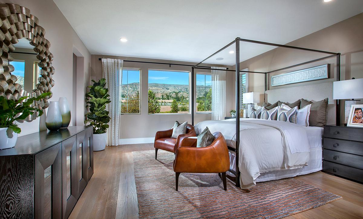 Padova Plan 2 Master Bedroom