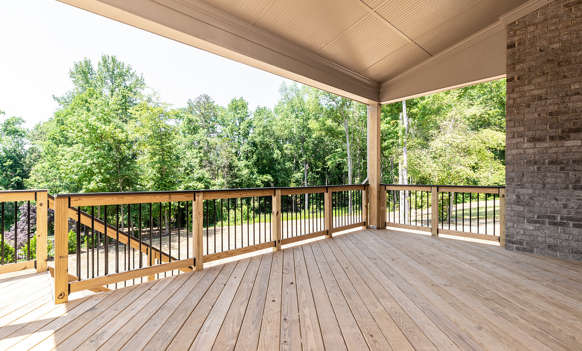 Magnolia Plan Rear Covered Porch option