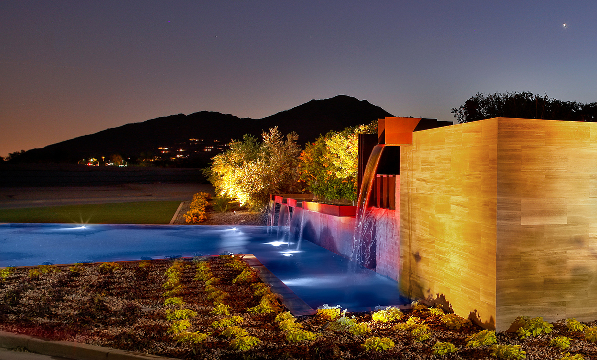 Azure, Water Feature