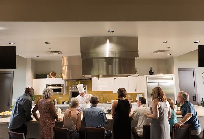 Culinary Demonstration at Four Sages