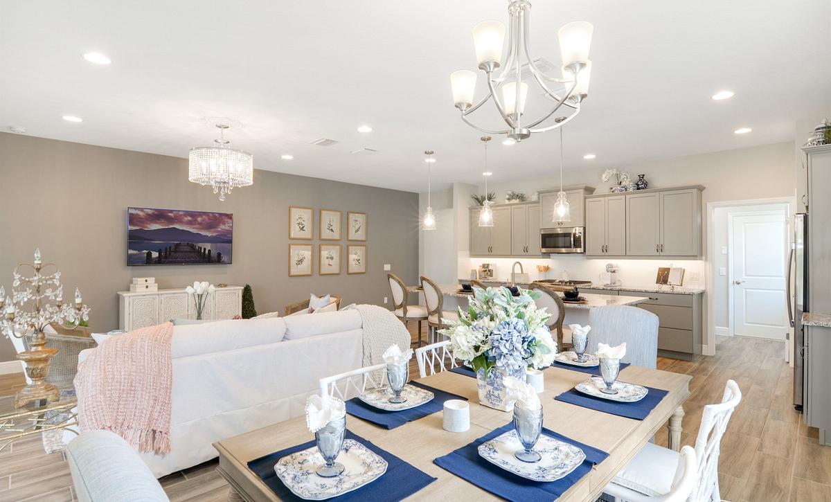 Trilogy at Ocala Preserve Affirm Model Home Dining