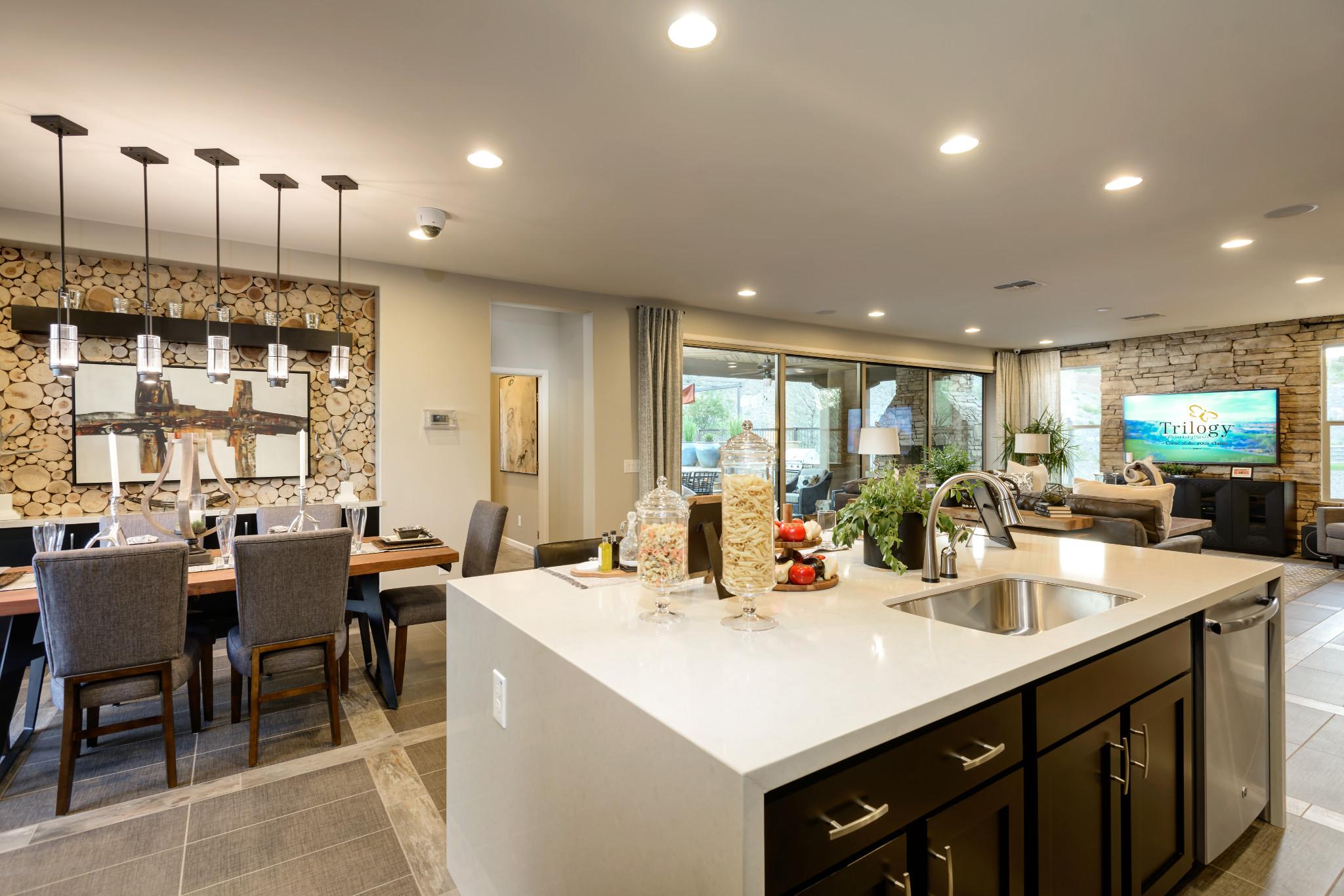 Cypress Model Kitchen