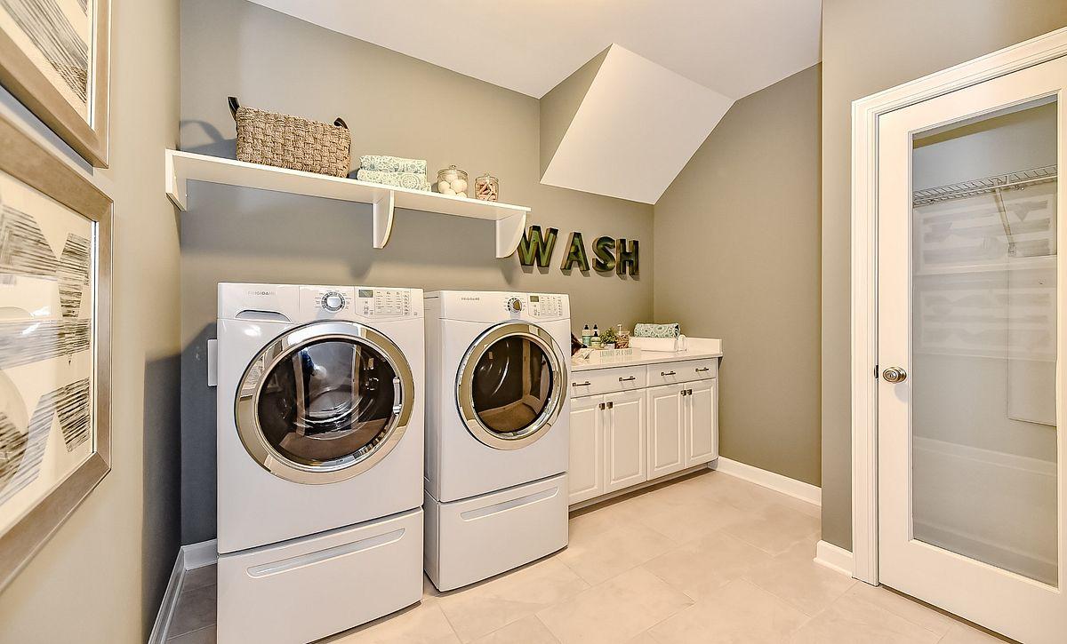 Wyndham plan Laundry Room