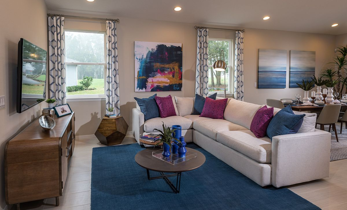 Trilogy at Ocala Preserve Rome Model Home Great Room