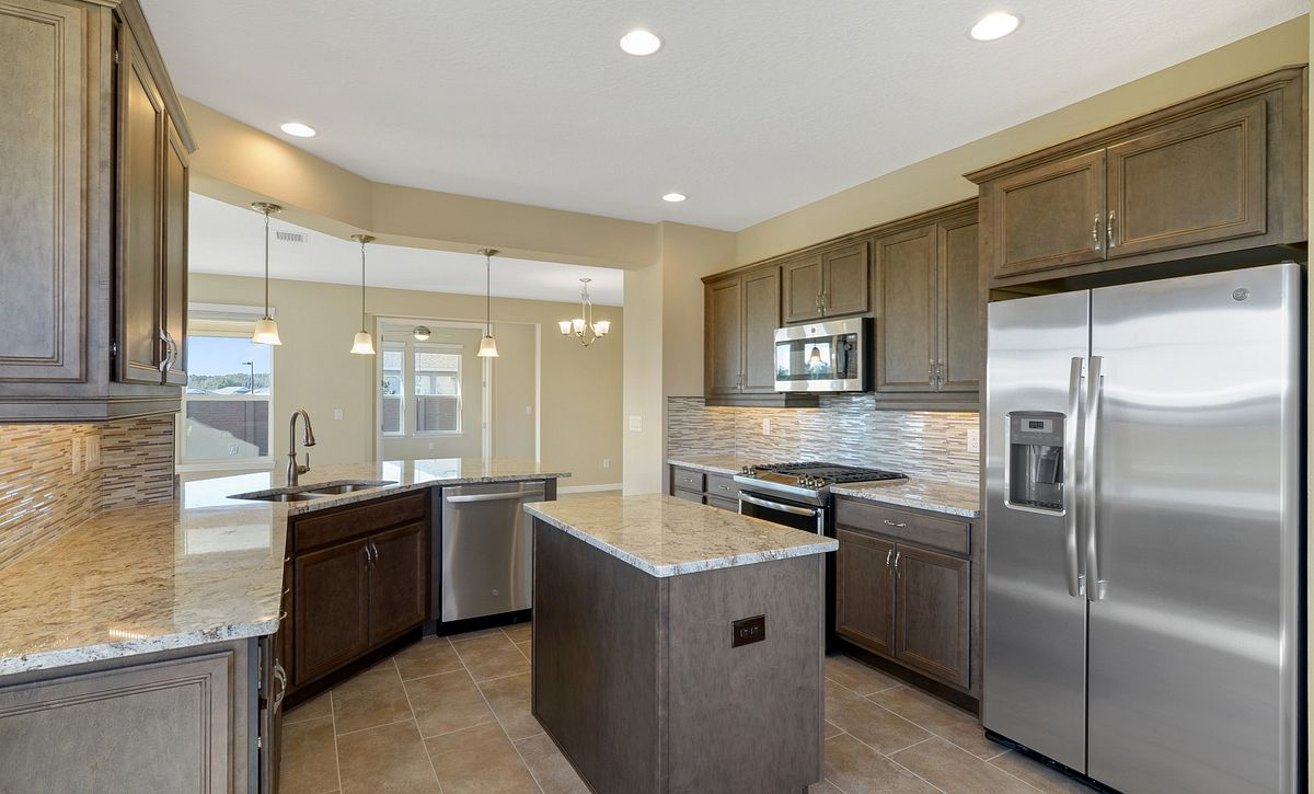 Trilogy at Ocala Preserve Quick Move In Monaco Plan Kitchen
