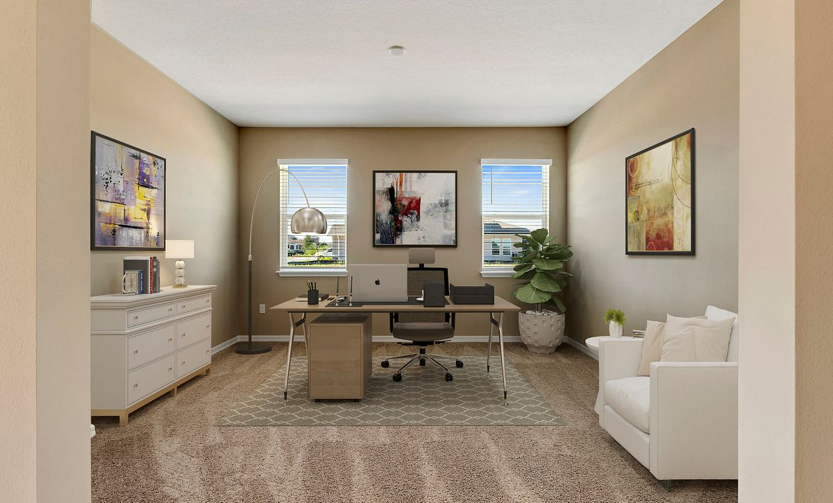 Trilogy Orlando Quick Move In Home Imagine Plan Virtually Staged