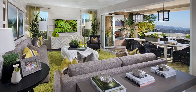 Ventana Plan 1 Living Room
