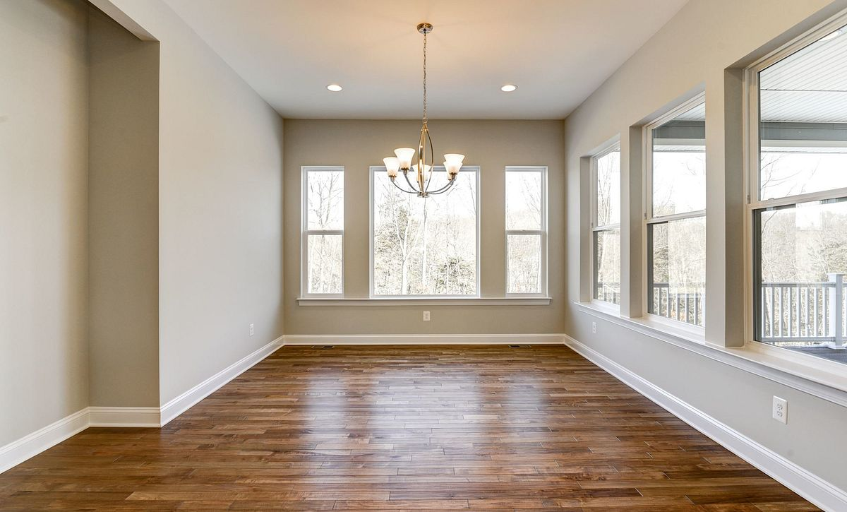 Trilogy at Lake Frederick Hensely Plan Quick Move In Morning Room