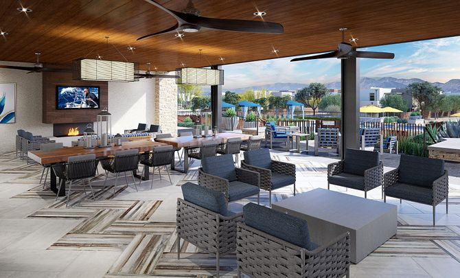 Trilogy in Summerlin Outdoor Patio