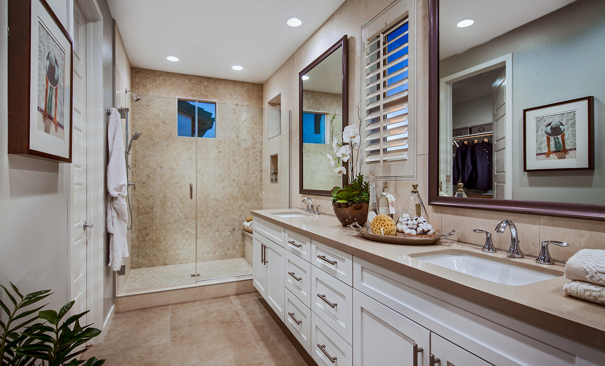 Plan 2 Master Bathroom
