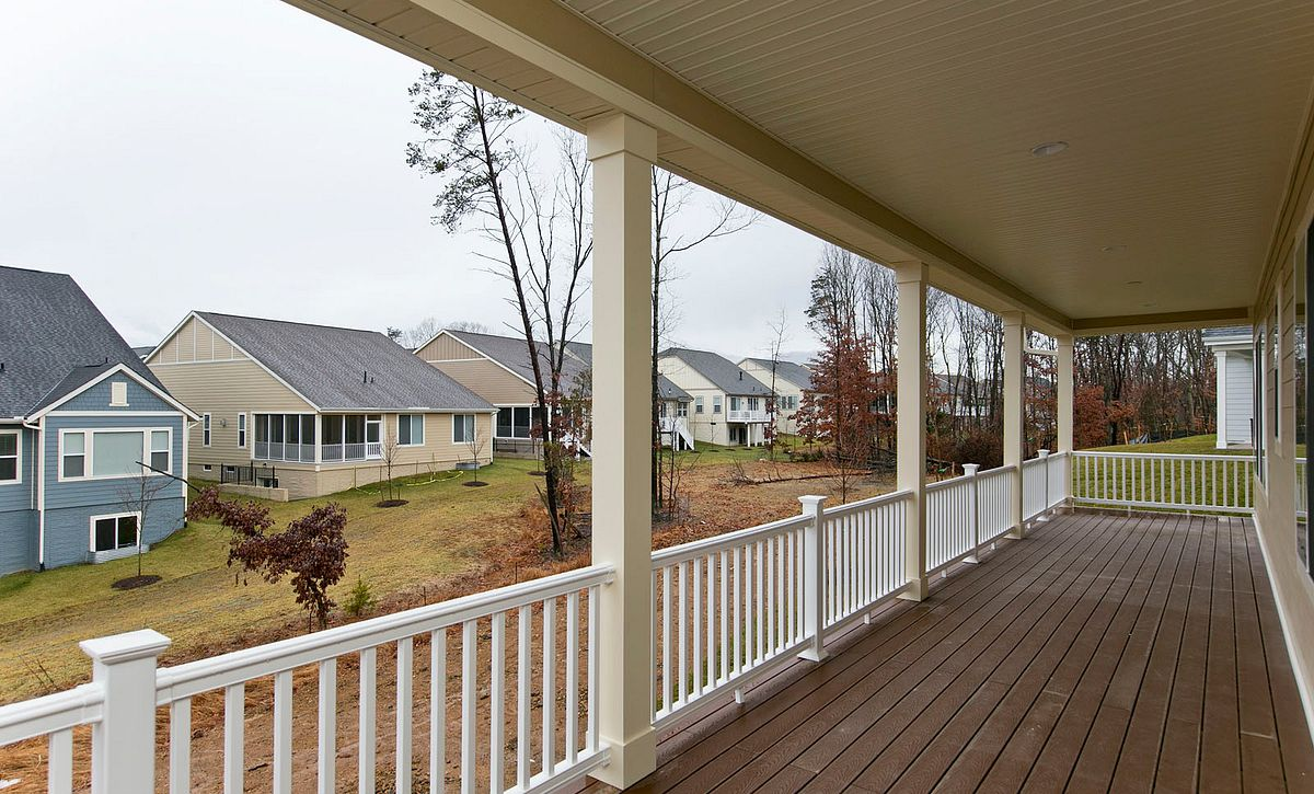 Trilogy at Lake Frederick Quick Move In Evoke Plan Covered Patio
