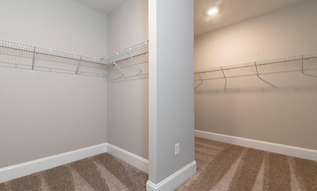 Preston plan Owner's Closet